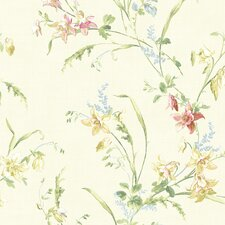 Willow Cottage Lily Trail Wallpaper
