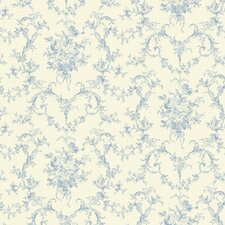 <strong>Brewster Home Fashions</strong> Willow Cottage Petit Floral Bouquet Wallpaper