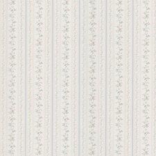 <strong>Brewster Home Fashions</strong> Kitchen and Bath Resource II Floral Stripe Wallpaper