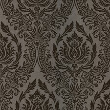 <strong>Brewster Home Fashions</strong> Salon Wreath Damask Wallpaper