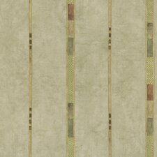 <strong>Brewster Home Fashions</strong> Kitchen and Bath Resource II Patterned Stripe Wallpaper