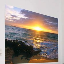 <strong>Brewster Home Fashions</strong> Komar Makena Beach 1-Panel Wall Mural