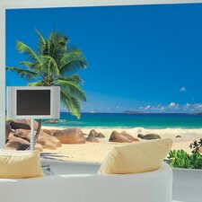 <strong>Brewster Home Fashions</strong> Komar Seychellen 8-Panel Wall Mural