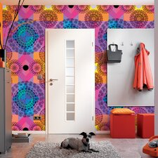 <strong>Brewster Home Fashions</strong> Komar Kaleidoscope 4-Panel Wall Mural