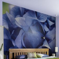 <strong>Brewster Home Fashions</strong> Komar Hortensia 8-Panel Wall Mural