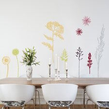 <strong>Brewster Home Fashions</strong> Spirit Field of Herbs Wall Decal