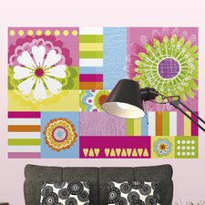 <strong>Brewster Home Fashions</strong> Komar Ann Mix and Match Wall Mural