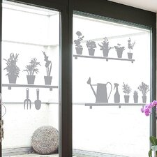 <strong>Brewster Home Fashions</strong> Euro Garden Window Sticker