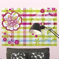 <strong>Brewster Home Fashions</strong> Komar Lynn Mix and Match Wall Mural