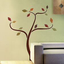 <strong>Brewster Home Fashions</strong> Euro Ethnic Tree Wall Decal