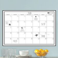 WallPops Calendar Whiteboard Wall Decal
