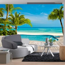 <strong>Brewster Home Fashions</strong> Ideal Decor Pool Wall Mural