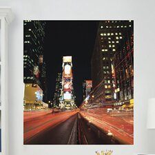 <strong>Brewster Home Fashions</strong> WallPops Art Kits Times Square Photographic Panels Wall Decal