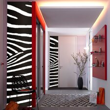 Stripe Euro Zebra Wall Decal