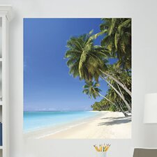 <strong>Brewster Home Fashions</strong> WallPops Art Kits Beach Photographic Panels Wall Decal