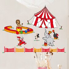Euro Circus Wall Decal