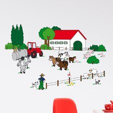 Euro The Farm Wall Decal