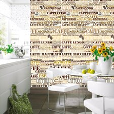 <strong>Brewster Home Fashions</strong> Ideal Decor Cafeteria Wall Mural