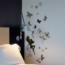 Euro Dark Fairy Wall Decal