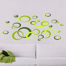 <strong>Brewster Home Fashions</strong> Euro Oval Wall Decal