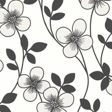 Elements Freud Blossom Trail Floral Wallpaper