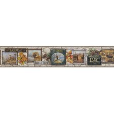 Borders by Chesapeake John Signage Trail Scenic Border Wallpaper