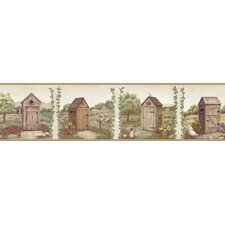 Pure Country Fredley Meadow Outhouse Wallpaper Border