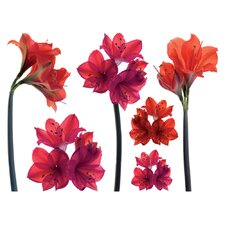 <strong>Brewster Home Fashions</strong> Spirit Amaryllis Wall Decal