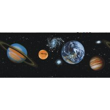 <strong>Brewster Home Fashions</strong> Kidding Around Planets Wallpaper Border
