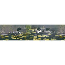 <strong>Brewster Home Fashions</strong> Northwoods Duck Border Wallpaper