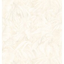 Kitchen and Bath Resource II Tonal Leaf Wallpaper
