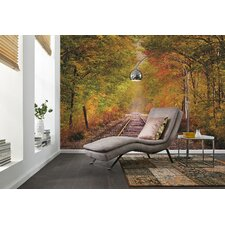 <strong>Brewster Home Fashions</strong> Komar Summer in Fall Wall Mural