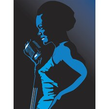 <strong>Brewster Home Fashions</strong> Ultimate Jazz Singer Wall Mural