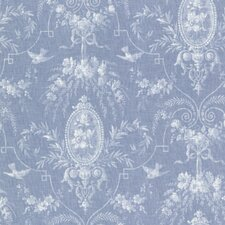 <strong>Brewster Home Fashions</strong> La Belle Maison Flourish Fleur Damask Wallpaper