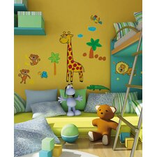 Euro Giraffe Wall Stickers