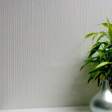 <strong>Brewster Home Fashions</strong> Anaglypta Paintable Citrine Stripe Embossed Wallpaper