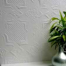<strong>Brewster Home Fashions</strong> Anaglypta Paintable Seymour Supaglypta Embossed Wallpaper