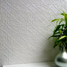 <strong>Brewster Home Fashions</strong> Anaglypta Paintable Maxwell Embossed Wallpaper