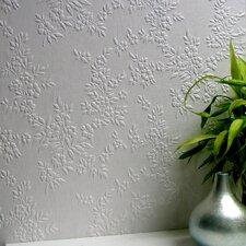 Anaglypta Paintable Portland Anaglytpa Original Floral Embossed Wallpaper
