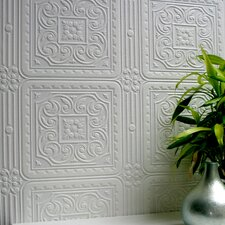 Anaglypta Paintable Turner Tile Embossed Wallpaper