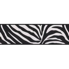 Kids World Zebra Crossing Zebra Wallpaper Border