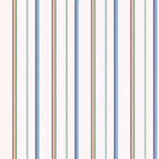 <strong>Brewster Home Fashions</strong> Kids World Barnstable Blue Stripe Wallpaper