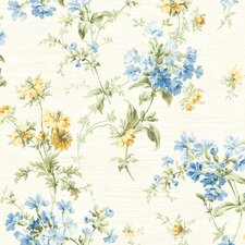 <strong>Brewster Home Fashions</strong> Springtime Cottage Wildflower Toss Wallpaper