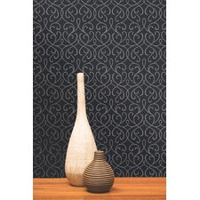 Accents Alouette Mod Swirl Wallpaper