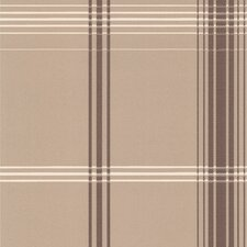 Accents Oskar Plaid Wallpaper