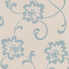 <strong>Brewster Home Fashions</strong> Decadence Sharon Jacobean Floral Wallpaper