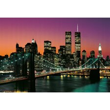 <strong>Brewster Home Fashions</strong> Ideal Decor Manhattan Large Wall Mural