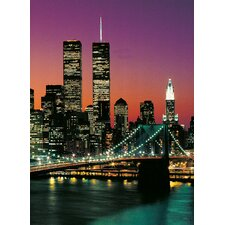 Ideal Decor Manhattan Wall Mural