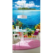 Ideal Decor Treasure Island Wall Mural