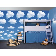 <strong>Brewster Home Fashions</strong> Ideal Decor Clouds Wall Mural
